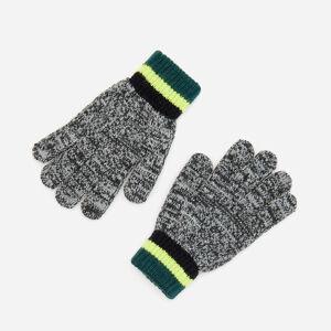 Reserved - Melanžové rukavice - Šedá