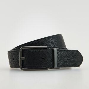 Reserved - Opasok s kovovou prackou - Čierna