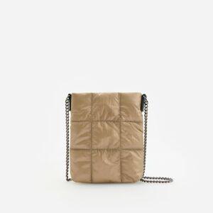 Reserved - Minitaštička z recyklovaného polyesteru - Zlatá