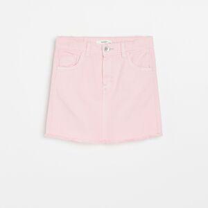 Reserved - Džínsová sukňa - Ružová