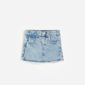 Reserved - Babies` skirt - Modrá
