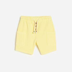 Reserved - Boys` shorts - Žltá