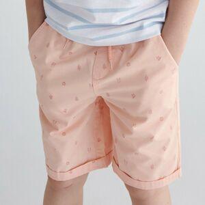 Reserved - Vzorované šortky - Oranžová