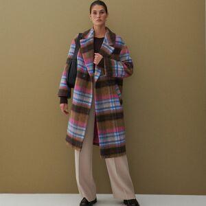 Reserved - Vlnený kabát - Viacfarebná