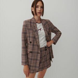 Reserved - Kárované šortky - Viacfarebná