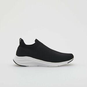 Reserved - Športové topánky s kontrastnou podrážkou - Čierna