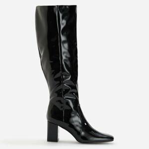 Reserved - Dámske čižmy-vychádzková obuv - Čierna