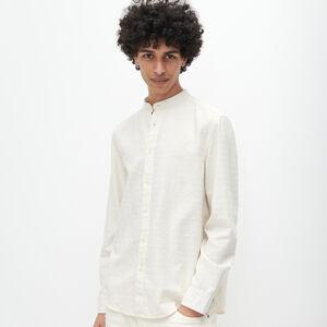 Reserved - Bavlnená košeľa - Biela