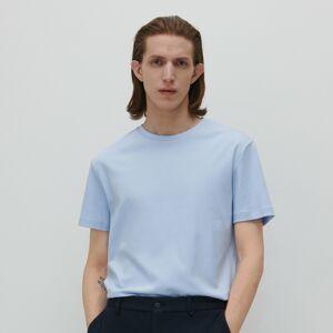 Reserved - Tričko regular fit - Modrá