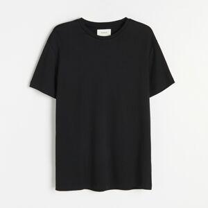 Reserved - Tričko regular fit - Čierna