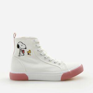 Reserved - Girls` sneakers - Biela