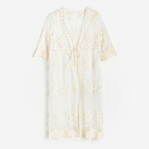 Reserved - Plážové šaty - Krémová