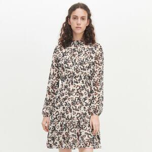 Reserved - Šaty s leopardím vzorom -