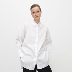 Reserved - Oversize bavlnená košeľa - Krémová