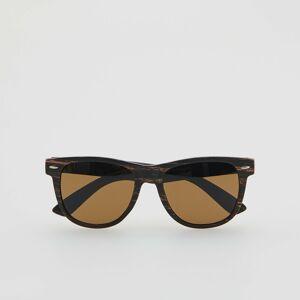 Reserved - Men`s sunglasses - Hnědá