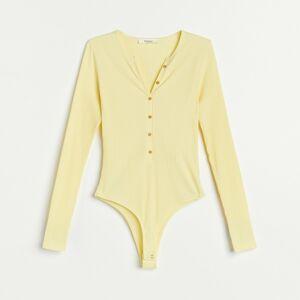Reserved - Bavlnené body - Žltá