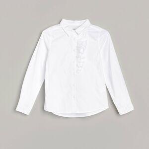 Reserved - Biela košeľa so žabó -