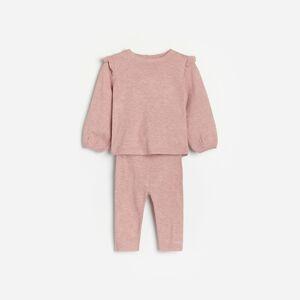 Reserved - Súprava svetra a nohavíc - Ružová