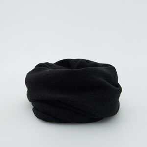 Reserved - Komínový šál s prímesou vlny - Čierna