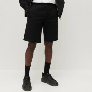 Reserved - Teplákové šortky z organickej bavlny - Čierna