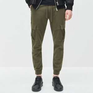 Reserved - Cargo joggery slim fit - Khaki