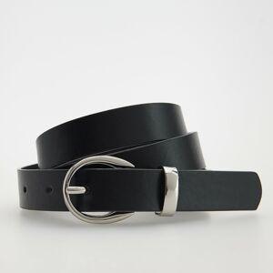 Reserved - Opasok z umelej kože - Čierna