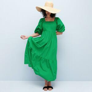Reserved - Bavlnené maxišaty - Zelená