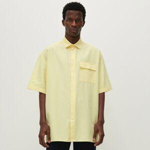 Reserved - Košeľa s krátkymi rukávmi - Žltá