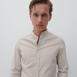 Reserved - Košeľa super slim fit - Béžová