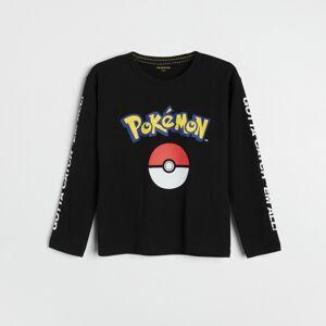 Reserved - Boys` t-shirt - Čierna
