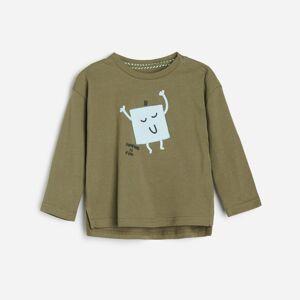 Reserved - BOYS` T-SHIRT - Khaki