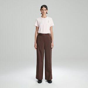 Reserved - Tričko z organickej bavlny - Ružová