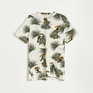 Reserved - Men`s t-shirt - Krémová