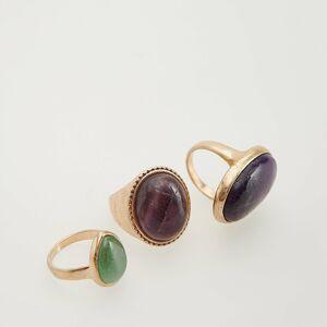 Reserved - Súprava prsteňov - Viacfarebná