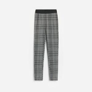 Reserved - Kockované nohavice - Čierna