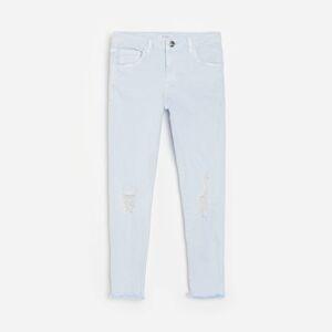 Reserved - Džínsy slim fit - Modrá