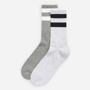 Reserved - Men`s socks - Svetlošedá