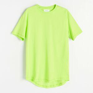 Reserved - Bavlnené tričko voľného strihu - Zelená