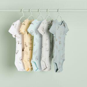 Reserved - Súprava 5 bavlnených body - Biela