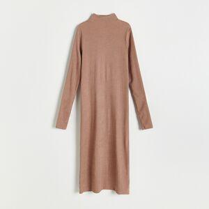 Reserved - Ladies` dress - Hnědá
