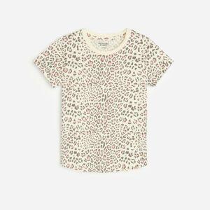 Reserved - Vzorované bavlnené tričko - Žltá