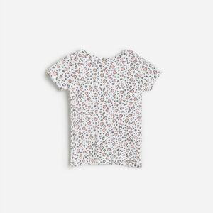 Reserved - Girls` t-shirt - Biela