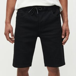 Reserved - Denimové šortky - Čierna
