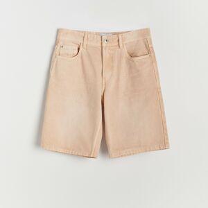 Reserved - Bavlnené šortky - Oranžová