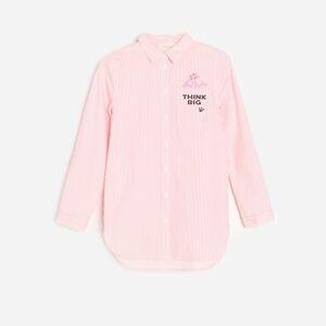 Reserved - Dlhá košeľa Pink Panther - Červená