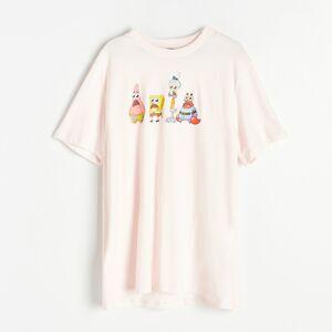 Reserved - Tričko SpongeBob - Ružová