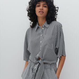 Reserved - Ladies` shirt - Čierna
