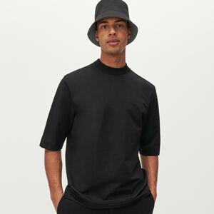 Reserved - Tričko so stojačikom - Čierna