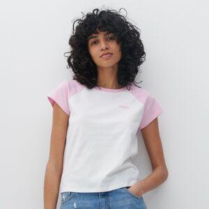 Reserved - Ladies` t-shirt - Ružová