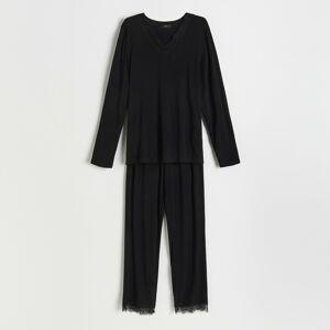 Reserved - Ladies` pyjama - Čierna